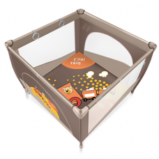 Манеж Baby Design Play Up brown