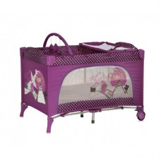 Манеж Lorelli Travel Kid 2L Pink Movie Star