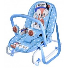 Детский шезлонг Bertoni Dream TOP RELAX blue baby fox