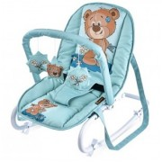 Детский шезлонг Bertoni Dream Time green cute bear