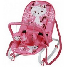 Детский шезлонг Bertoni Dream Time pink kitten