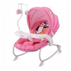 Детский шезлонг Bertoni Dream Time Pink Penguin