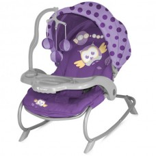 Детский шезлонг Bertoni Dream Time Violet Baby Owl