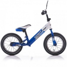 Беговел Azimut Balance Bike Air 16 сине-белый
