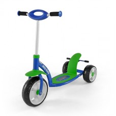 Самокат Milly Mally Scooter Active (sporty) сине-зеленый